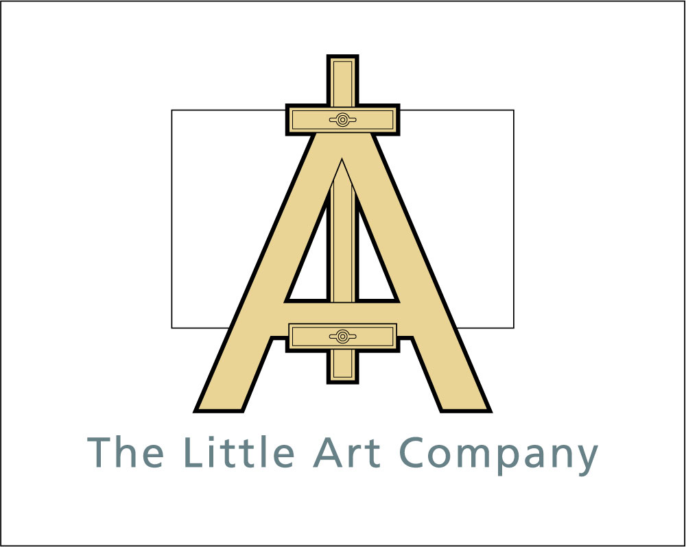 New logo for the little art company by cambridge illustrator Richard Bowring