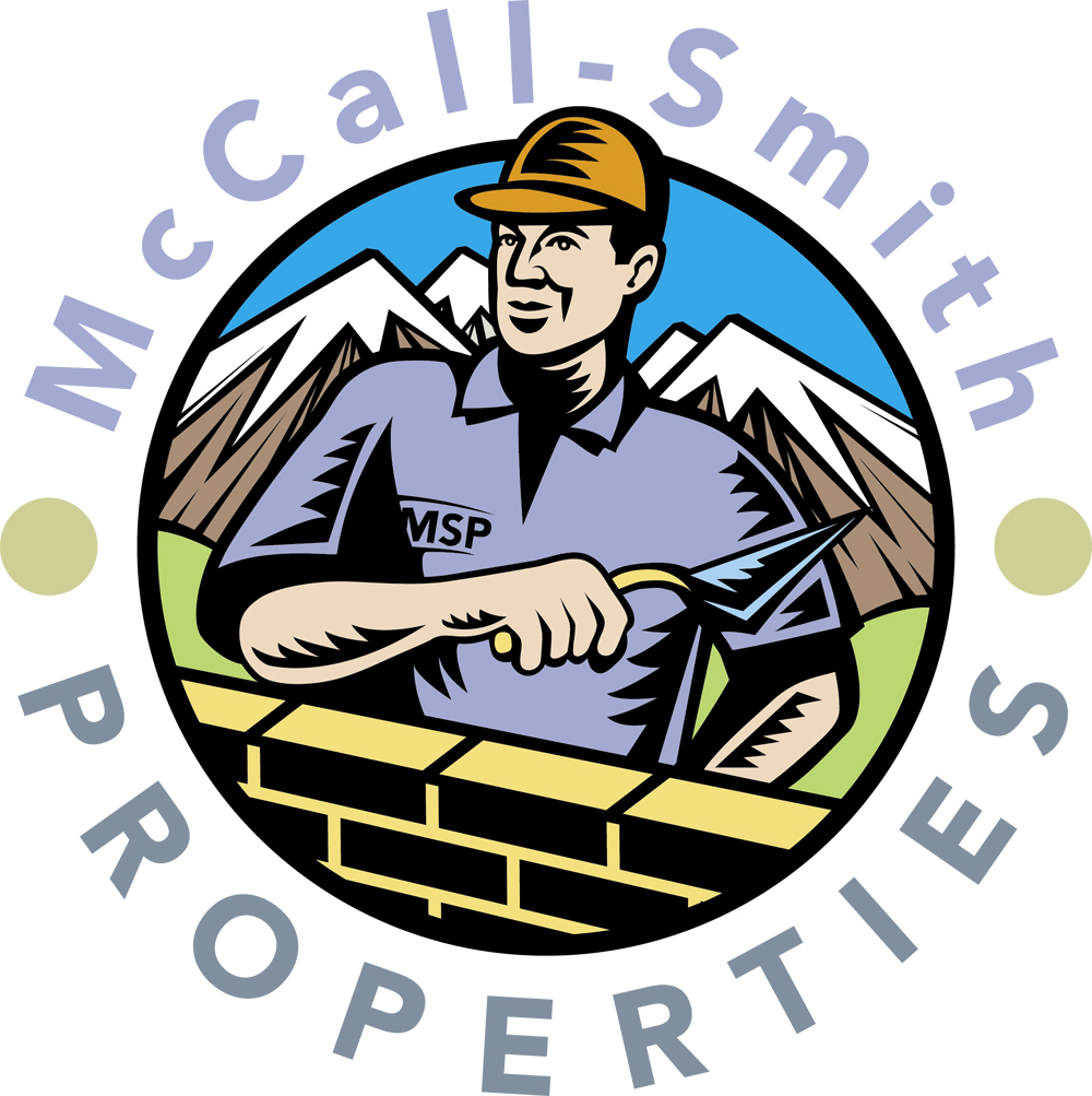 Illustrative idea for the McCall Smith property logo by Cambridge based illustrator Richard Bowring