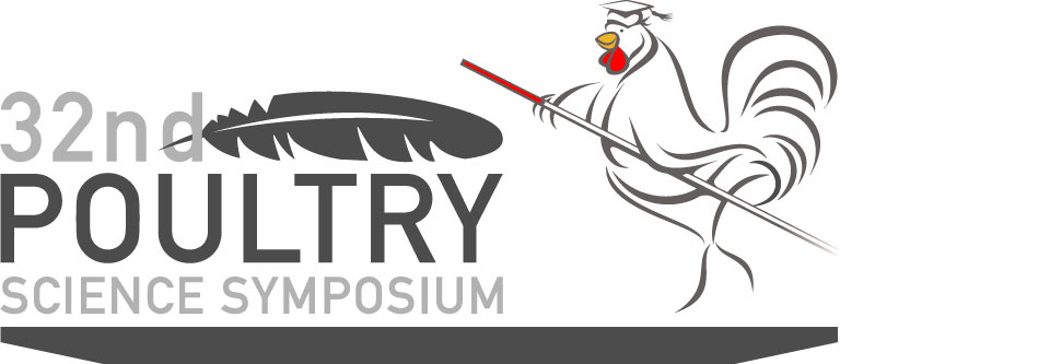 New logo for the 32nd Poultry Science Symposium