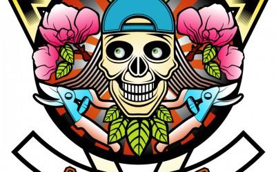 Logo for the Tattooed Gardener