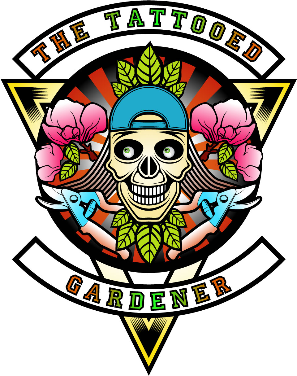 Logo for the tattooed gardener