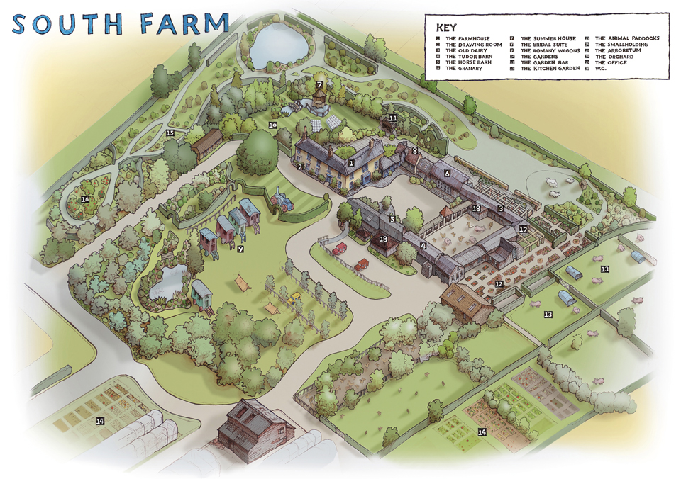 New map for South Farm