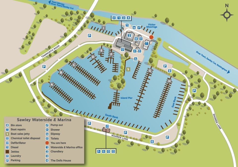 Illustrated maps for British Waterways/Aquavista